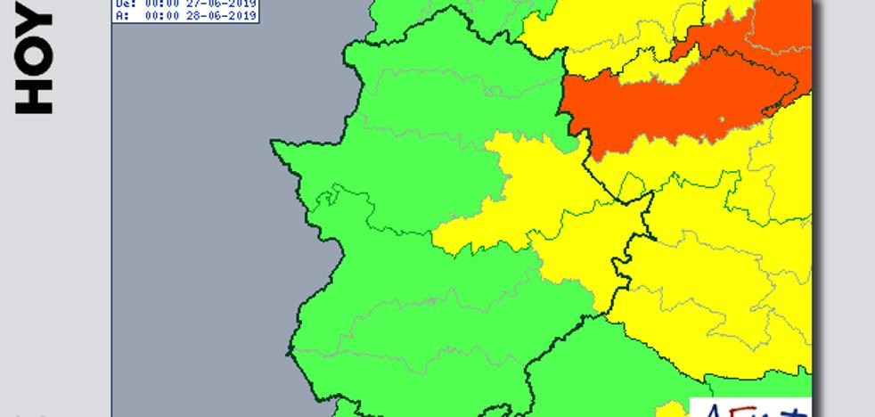 Los primeros avisos por la ola de calor se activarán el jueves en Villuercas, Montánchez y La Siberia