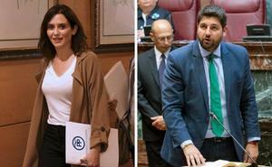 Comienza la cuenta atrás para los gobiernos de Madrid y Murcia