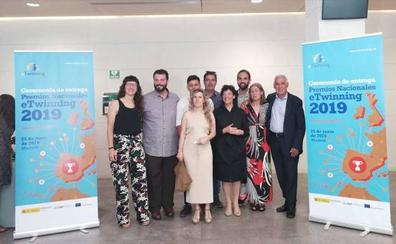 Siete docentes de Montijo recogen sus premios nacionales eTwinning