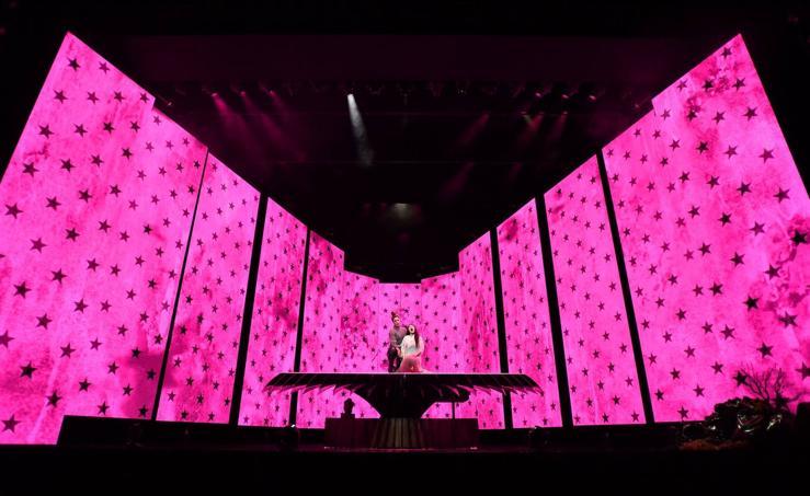 Ensayo general de la ópera «Madama Butterfly» en Australia