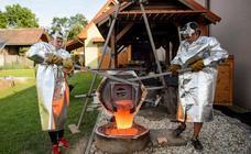 Fundidor de campanas artesano