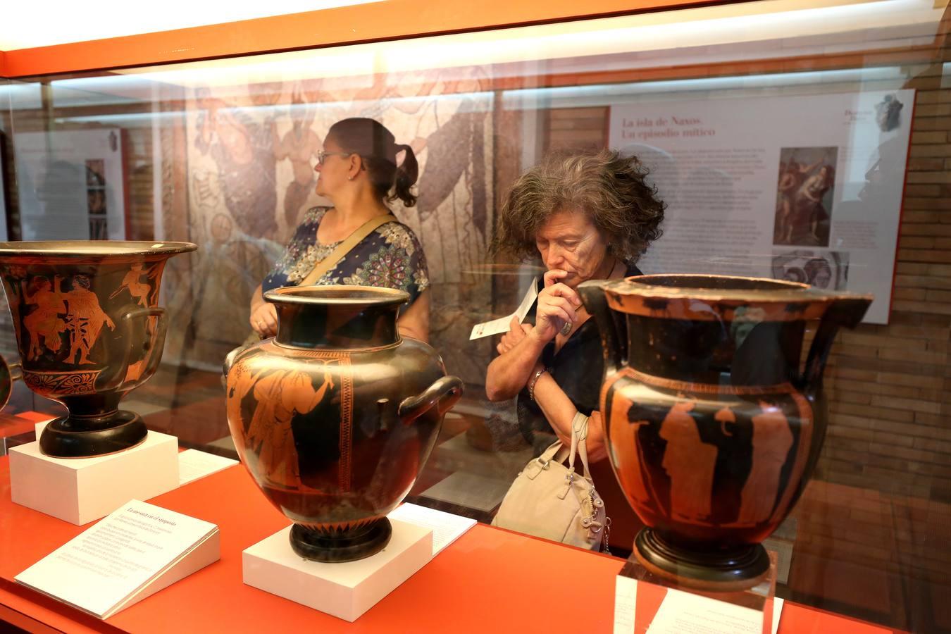 Exposición temporal «Dionysos-Baco. Un dios para los humanos»