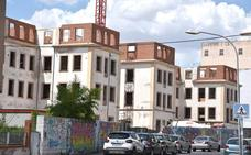 Levantada la tercera planta de la futura residencia de los pabellones