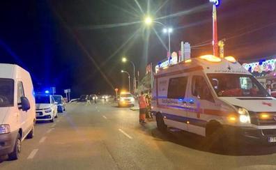 Cruz Roja realiza un quincena de asistencias durante la noche del miércoles en la Feria de Badajoz