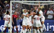 Inglaterra arrolla a Noruega y confirma su candidatura