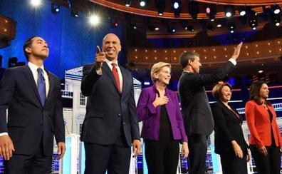 Los demócratas se disputan quién se enfrentará a Trump