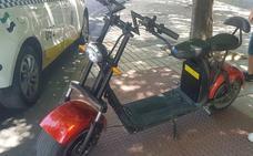Denuncian en Badajoz al conductor de un vehículo de movilidad personal por circular sin carné, sin seguro y por la acera