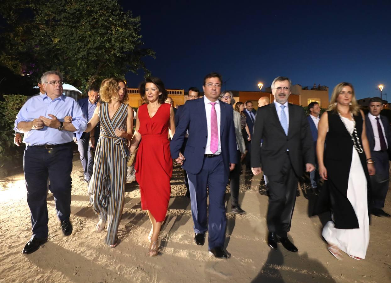 Inauguración del Festival de Teatro de Mérida con la asistencia numerosos dirigentes políticos