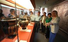 El MNAR inaugura una muestra de piezas sobre Dionysos Baco