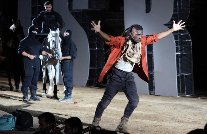 'Sansón y Dalila' inaugura el 65 festival de Teatro de Mérida en una noche inolvidable
