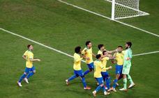 Brasil, semifinalista tras imponerse en la tanda de penaltis a Paraguay