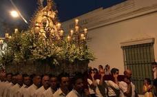 Más de cien costaleros participarán en las procesiones de la Virgen