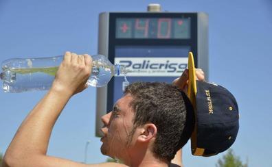 Castuera, la localidad más calurosa de Extremadura este sábado con 41,4 grados