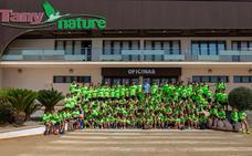 Diversión y fútbol en el Campus de Fútbol Tany Nature