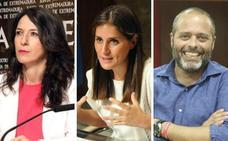 Esther Gutiérrez, Gil Rosiña y Rafael España, consejeros en el nuevo Ejecutivo extremeño