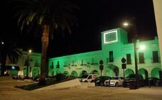 Herrera se unió al Día de la ELA e iluminó de verde los edificios