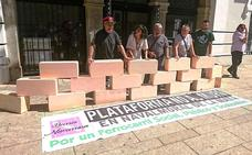 La plataforma No al Muro convoca una manifestación para el día 11 en Navalmoral