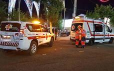 El número de asistencias de Cruz Roja en feria cae un 18%