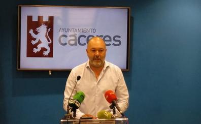 Cs presenta al alcalde de Cáceres ocho infraestructuras «necesarias» para esta legislatura