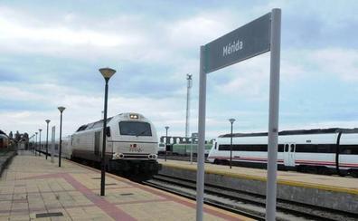 El tren Cáceres-Sevilla de esta mañana registra incidencias en Mérida y llega 30 minutos tarde a su destino