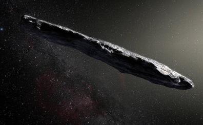'Oumuamua, qué llegó de fuera del Sistema Solar, no es una nave extraterrestre