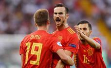 Cuatro españoles en el once ideal del Europeo sub-21