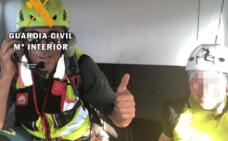 Rescatado un senderista de 39 años tras sufrir una caída en una garganta de Madrigal de la Vera