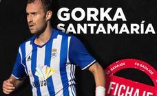 El CD Badajoz ficha al delantero Gorka Santamaría del Sporting de Gijón B