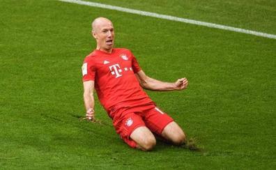 Robben se retira