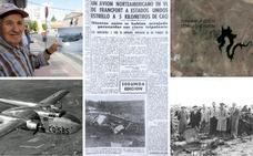 Los que se iban 'a forrar' con el avión yanqui que se estrelló en Cáceres