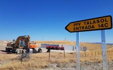 La fotovoltaica de Talaván inicia su construcción y generará 600 empleos