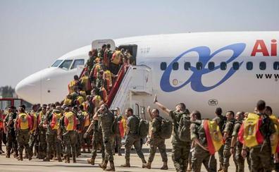 Parten a Letonia los primeros 150 militares de la Brigada 'Extremadura' XI en misión de la OTAN