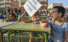 La falta de colegio influye en la salud de los vecinos de Cerro Gordo