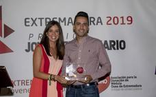 Ismael Villalobos, premio Joven Empresario 2019 de AJE Extremadura