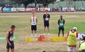 Antúnez y Arce, platas; y Pulgarín, bronce sub-20