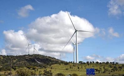 Una empresa pide permiso para crear cinco nuevos parques eólicos en Extremadura