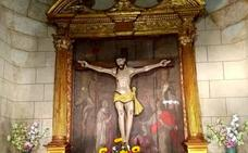 El retablo de la ermita del Cristo de Valverde de la Vera se restaura gracias a la suscripción popular
