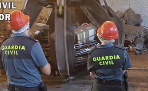 La Guardia Civil destruye en Extremadura 2.150 armas de origen ilícito en 2018