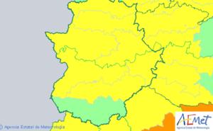 Los avisos por altas temperaturas regresan el jueves a Extremadura