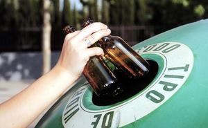 El reciclaje de envases de vidrio en Extremadura crece un 9,5% en la primera mitad del año