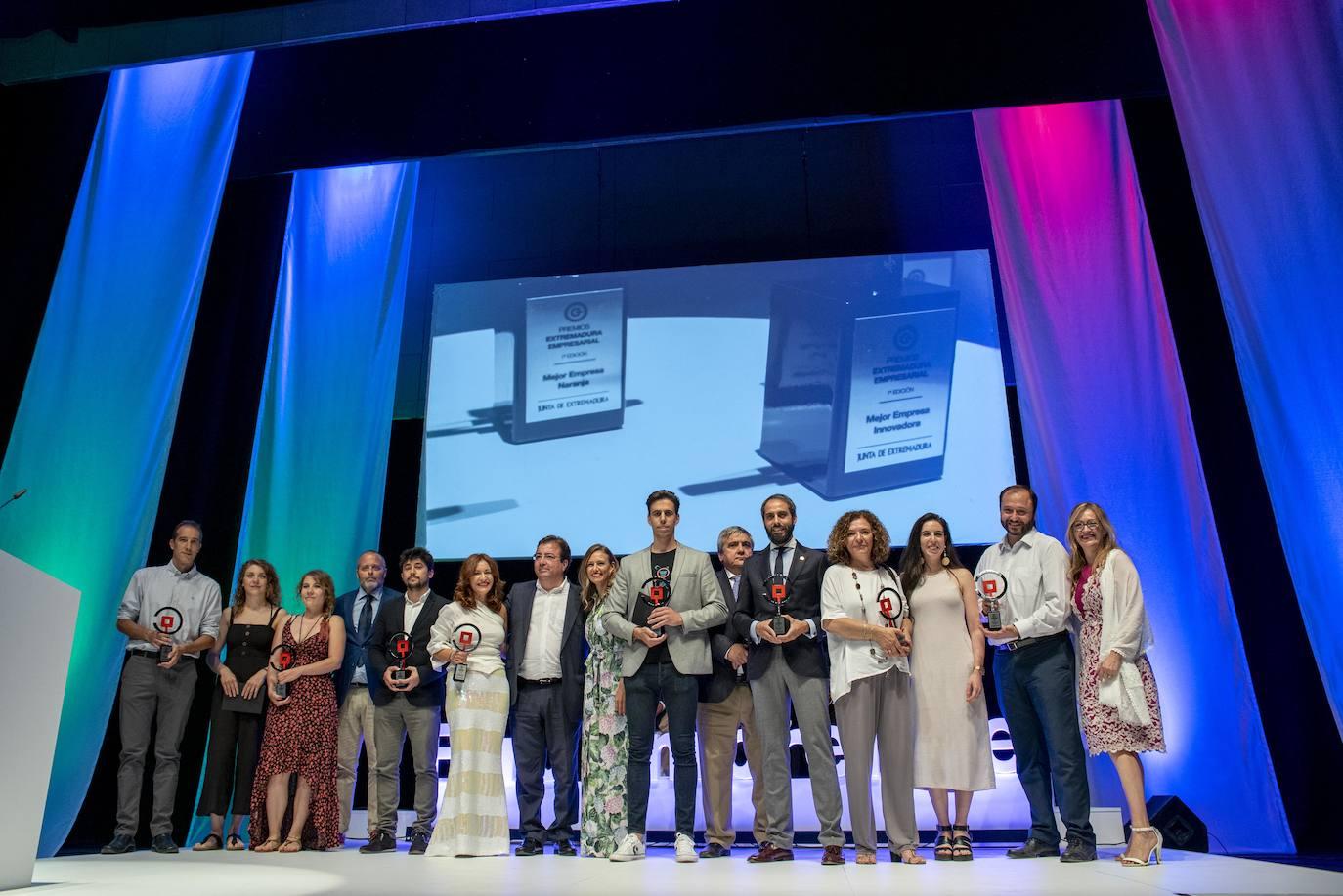 Extremadura Empresarial galardona a ocho empresas en la primera edición de sus premios
