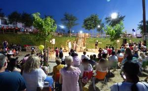 Música, magia y peticiones en la inauguración del parque
