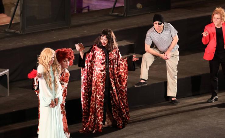 Estreno de 'Pericles, príncipe de Tiro' en el Festival de Teatro de Mérida