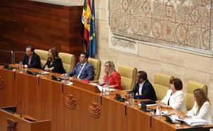 La ampliación de la Mesa de la Asamblea será temporal