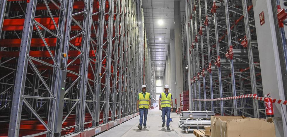 Monliz inicia las pruebas de sus instalaciones en la plataforma logística de Badajoz