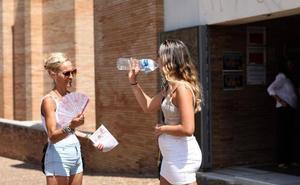Extremadura marca 5 de las 10 temperaturas más altas de España a medianoche