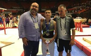 Sergio Moreno, subcampeón de España júnior