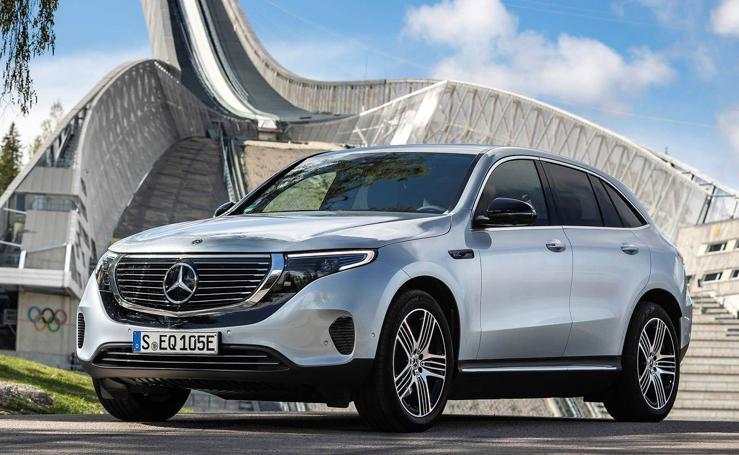 Todas las fotos del nuevo Mercedes EQC, el SUV eléctrico