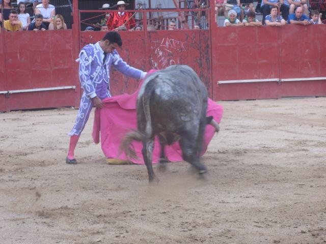Juan Carlos Benitez sale a hombros en Moraleja