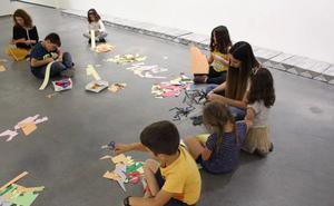 Taller infantil en la Fundación Helga de Alvear de Cáceres